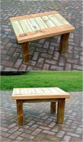 Patio Furniture Wood Pallets - 60 best pallet end tables images on pinterest side tables