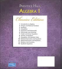 Holt California Algebra   Textbook Pages   prentice hall     lbartman com