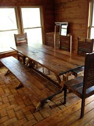 Rustic Wooden Bench With Storage Kitchen Laminate Flooring Rustic Large Dining Room Table Sets