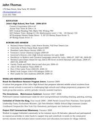 College Freshman Resume Sample RESUMES DESIGN  Freshman Resume     Medical Assistant Resume Cover Letter