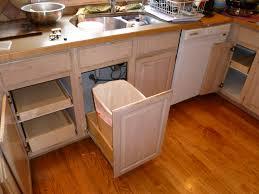 mdf raised door chestnut kitchen cabinet pull out shelves