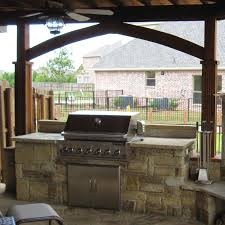 simple outdoor kitchen ideas 7087 baytownkitchen