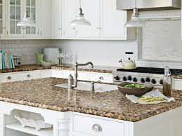 kitchen blue granite kitchen countertop over wooden kitchen