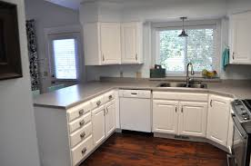 Oak Kitchen Cabinets Refinishing Get A Beautiful Look On Oak Cabinets Painted White