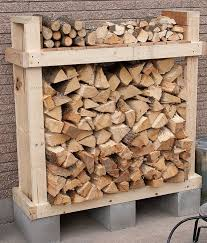 Rolling Wood Storage Rack Plans by 9 Super Easy Diy Outdoor Firewood Racks The Garden Glove