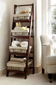 pottery barn u2013 ladder shelving for bathroom love this as a