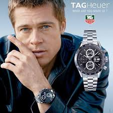TAG Heuer and Brad Pitt,