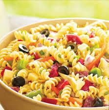 an Italian pasta salad