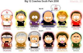 - 2008 Big 12 Coaches as South
