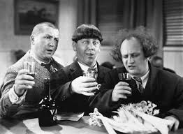 THE THREE STOOGES Makes the