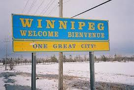 Off to Winnipeg