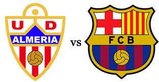 U.D Almería – F.C Barcelona