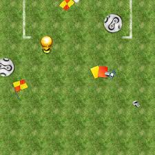Football soccer field iPad