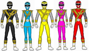 Power Rangers Samurai Stars by