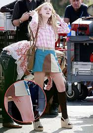 dakota fanning fake
