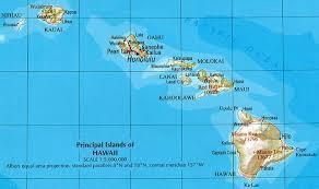 Hawaii consists of six major