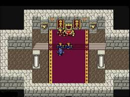 Final Fantasy IV Baron Throne Room