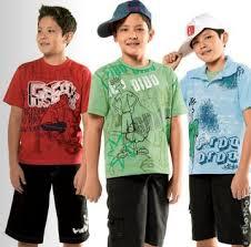 moda masculina infantil