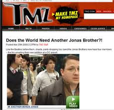 Jonas Brothers on TMZ