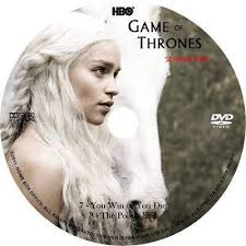 TV Cd2 cover. Game Of Thrones: