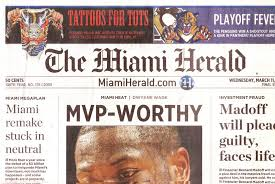 MIAMI HERALD FEATURE, HOME