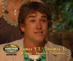The winner of Survivor: