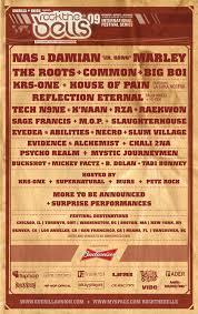 Rock the Bells 2009 lineup
