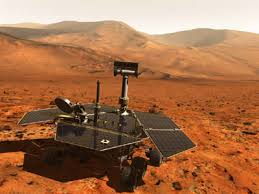 the Mars Rover showing the