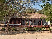 Many ashrams also served as