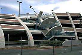 Figure 1: Damage to a parking garage in California. Picture from http://www.smate.wwu.edu/teched/geology/eq-columns.html
