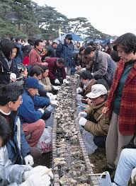 The Matsushima Oyster Festival