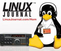 Tux on the Ham Radio