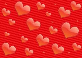 Red Hearts Free Stock Photo
