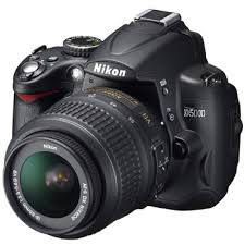 Nikon D5000 DX 12.3MP Digital SLR Camera with 18-55mm f/3.5-5.6