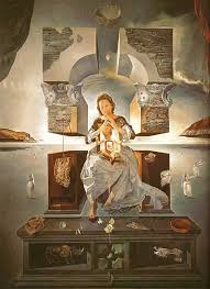 Salvador Dali – Madonna of Port Lligat