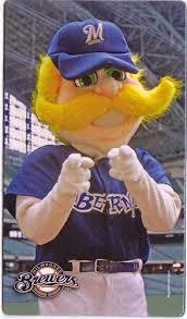 Mascot Bernie Brewer