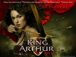 King Arthur. Guinevere