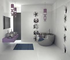 Sweet purple of European Bathroom Design