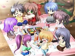 موضوع ترحيب بـ رنوش وورود و ورده جورية Friends_anime1