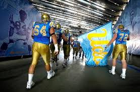 ucla football tunnel UCLA
