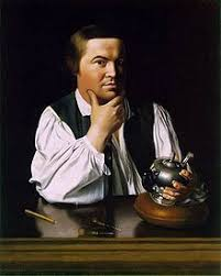 Portrait of Paul Revere by
