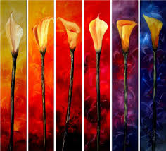 calla lily paintings