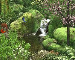 سر سبزی طبیعت در بهار