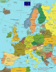 Europe map - map of Europe