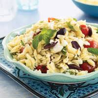 Orzo Pasta Salad with Grape