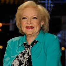 Betty White Makes a Splash,