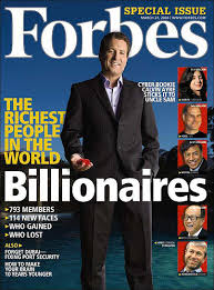 to Forbes Magazine
