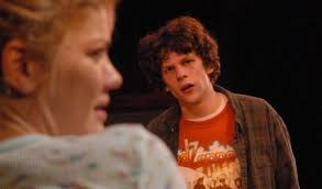 Jesse Eisenberg was still in