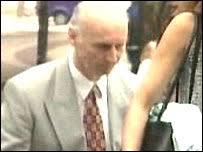 Dr Roy Murray arriving at - _39928608_drroymurray203