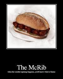 Now gimme a friggin McRib.